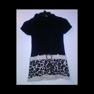 Girls Animal Print Dress Size Medium